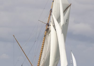 Mariquita, William Fife & Sons Classic yacht. Solent 2015