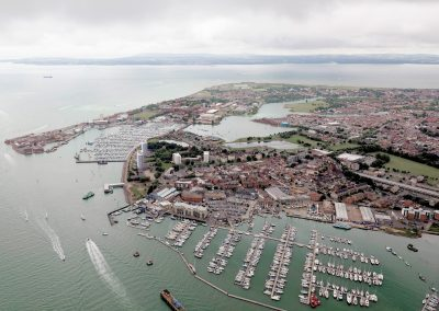 Gosport peninsula marinas
