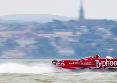 Typhoo P1 Power Boat, Stokes Bay