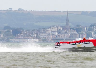 Power Boat P1  - Rawbank, on the Solent