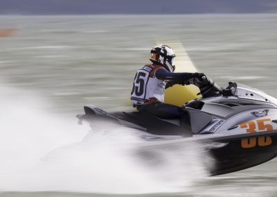 Jet ski racing on the Solent -No. 35