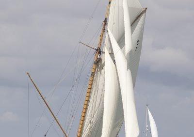 Mariquita, William Fife & Sons Classic yacht. Solent 2015