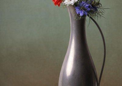 Alley Flowers in Dutch vase