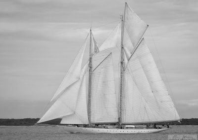 The stunning Classic yacht Altair, Solent 2015