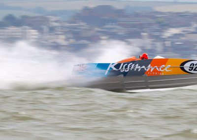 Kissimmee P1 Power Boat, Stokes Bay, Solent