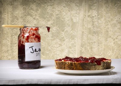 Jam and the doorstep - culinary heaven